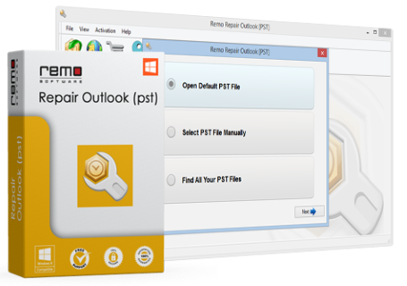 Remo Repair Outlook (PST) 2019 For Windows