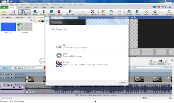NCH VideoPad Video Editor Professional 7.01 Crack