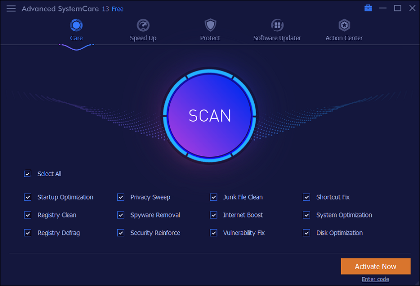 Advanced SystemCare Pro 13.2.0 With Crack