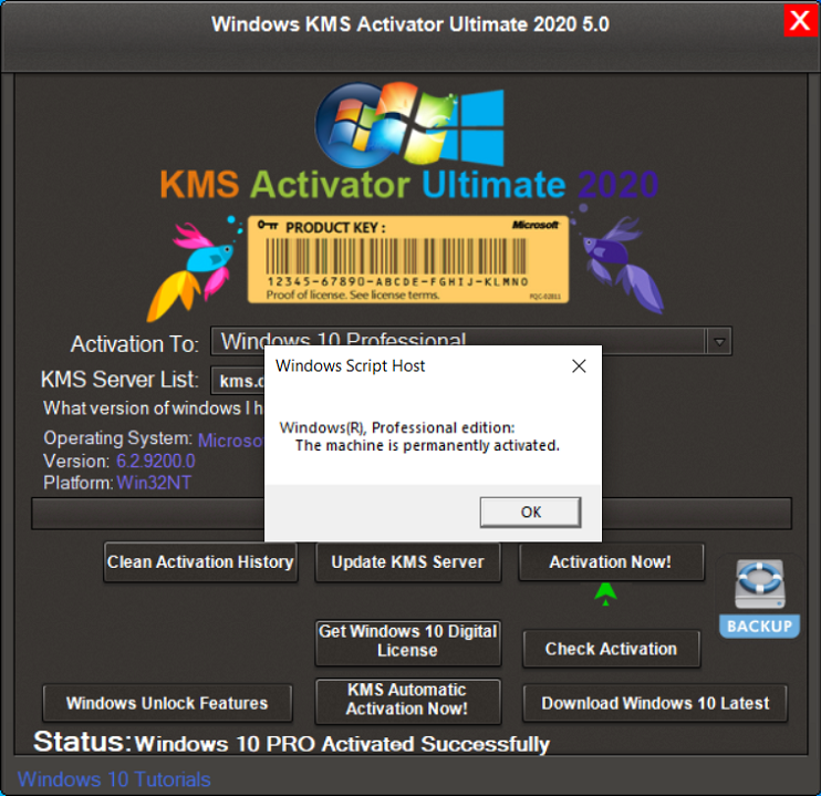 Windows KMS Activator Ultimate 5.1 2020 [Latest]