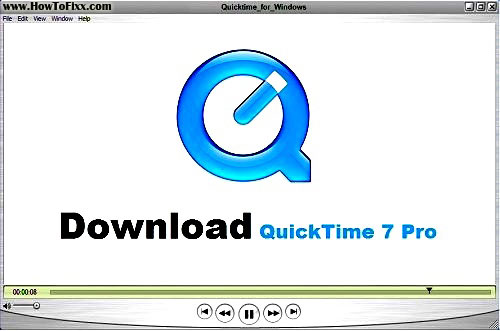 QuickTime Player 7 Pro Serial Number