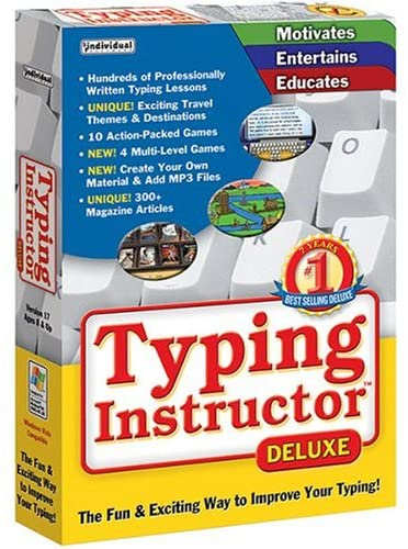 Typing Instructor Deluxe 2021 Crack