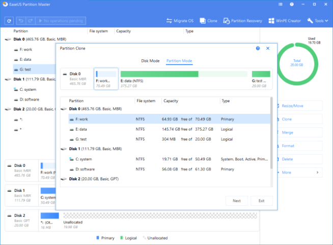 EaseUS Partition Master 16.0 WinPE Bootable ISO